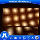 La visualizzazione gialla P10 della strada sceglie la visualizzazione di LED esterna di uso di colore