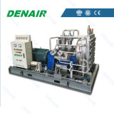 compressor de ar de alta pressão do pistão de 2/3m3 30kw 80bar