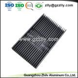 알루미늄 시리즈 또는 건축재료 알루미늄 금속 부속 밀어남 열 싱크