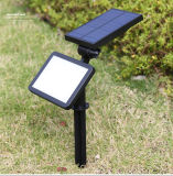 2018 Jardín al aire libre Insertar foco Solar LED Luz subterránea