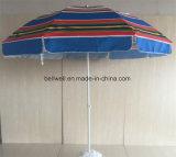 Поощрение зонтик в саду под эгидой суммы наклона