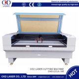 Máquina de estaca acrílica do CO2 da gravura do laser para o couro