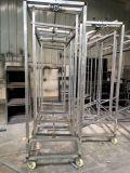 Liga de alumínio de alta qualidade Carrinho forte em partes separadas de incubadora