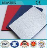 Do PE interno do material 3mm da decoração de Munufacturer painel composto plástico de alumínio