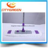 Facile de laver la lavette plate avec le traitement télescopique