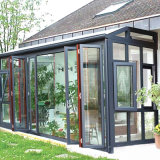 Водонепроницаемый стекла вторая спальня для зеленого дома