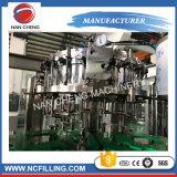 Refrescos con gas botella de vidrio Máquina de Llenado con 10000bph capacidad