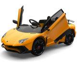 Lamborghini Les enfants de la batterie sur la voiture jouet avec suspension de la licence