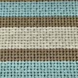 De hete Matras van het Latex van de Verkoop Natuurlijke met Gebreide Stof (FB852)