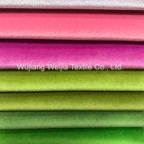 De kleurrijke Stof van het Fluweel van de Polyester voor het Speelgoed van de Schoenen van het Meubilair van Kledingstukken