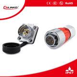 Metaal 4pin de Schakelaar van de Schakelaar Plug/4pin van gelijkstroom kan Gebruikte 3-5years zijn