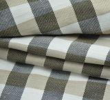Reticolo di tela dell'ispettore del tessuto del cotone per la camicia ed il Workwear