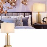 Goldtuch-Deckel-Sitzen-Raum für die Schreibtisch-Lampe modern