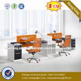Compartiment de bureau de poste de travail de personnes des meubles de bureau d'OEM 4 (HX-UN003)