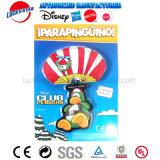 Heißer Verkaufs-lustiger Pinguin-Fallschirm-Plastikspielzeug für Kind-Förderung