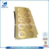 Широкий выбор золотая фольга наклейки этикеток
