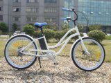 2017 mode pédale Al-Alloy Frame Beach Cruiser aider E Bike avec batterie au lithium