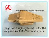 L'escavatore di Sany parte il supporto 12076693k del dente della benna per l'escavatore idraulico di Sany Sy55