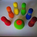 2018 Novo Professional Customized NBR bola de bowling de espuma de brinquedos a definir para as crianças