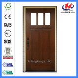 상업적인 실내 단단한 나무 나무로 되는 외부 문 (JHK-G32-2)