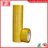 Adhésif acrylique Vente chaude BOPP Carton enroulement du ruban adhésif transparent