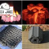 Carvão vegetal de madeira duro sextavado do BBQ do carvão amassado da serragem em China