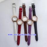 사업 시계 ODM 호화스러운 여자 시계 (WY-036B)