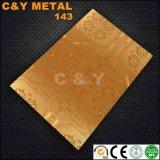 Hete Producten 304 van de Verkoop het Blad van het Roestvrij staal met het In reliëf maken