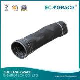 Sacchetto filtro purificato aria della vetroresina per la pianta del cemento