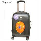 Высокое качество печати в стиле ретро динамического чемодан поездок большого объема багажного отделения