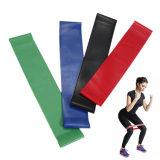 As faixas do laço da resistência, o melhor jogo de 4 faixas Home do exercício da aptidão para o exercício & a terapia física, Pilates, ioga, reabilitação, melhoram a mobilidade e a força