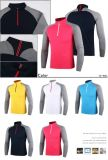 T-shirt novos do polo do golfe do esporte do projeto do logotipo feito sob encomenda