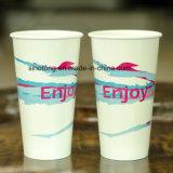 Desechables impresos en color de alta calidad bebida fría vaso de papel