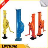 Alta calidad Gato de acero mecánico manual de la marca de fábrica de Liftking