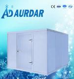 商業冷蔵室はパネルおよび冷凍装置を含んでいる