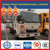 Sino HOWO 4X2の二重列のタクシーの側面ライト貨物トラック