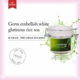 Il germe all'ingrosso del ODM dell'OEM abbellisce il sapone glutinoso bianco del riso per la pelle di controllo dell'olio che imbianca la rimozione dell'acne