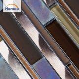 Backsplashの使用のための最も遅く設計されていた美しいアルミニウムガラスモザイク・タイル