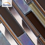 Backsplash 사용을%s 늦게 디자인된 아름다운 알루미늄 유리제 모자이크 타일