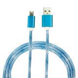 Tender el cable de carga colorido del USB de Braide del mercado para el androide