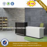 Tabella di legno del contatore dello scrittorio di ricezione dell'angolo delle forniture di ufficio (HX-8N2453)
