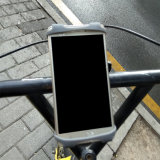 バイクの電話ホールダーの自転車のための反振動のシリコーンの電話ホールダー