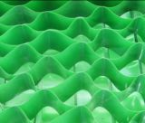 Het plastic Web van het Lassen, HDPE Geocell, het Web van Geo van het Lassen