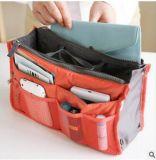 Organizzatore della borsa degli organizzatori della borsa, sacchetto dell'organizzatore della borsa dell'inserto nel sacchetto ordinato dell'organizzatore della borsa dell'organizzatore della borsa dell'inserto di corsa della Multi-Casella del sacchetto