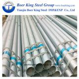 2018 6 дюйма до оцинкованный круглый стальной трубы диаметром 165 мм Gi трубки