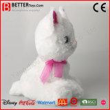 Gatto molle eccellente del giocattolo della peluche dell'animale farcito dell'abbraccio En71 per i capretti/bambini