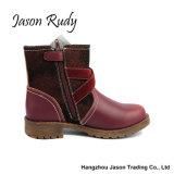 Commerce de gros de l'hiver Red Girl's Chaussures Bottes Princess Kids