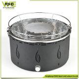 Gril portatif d'intérieur de BBQ de charbon de bois de Plancha de fer de moulage de gril de barbecue