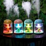 Umidificatore ultrasonico del USB del regalo di promozione mini per l'indicatore luminoso di notte di 7 colori