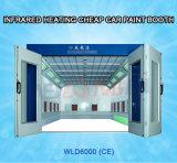Auto cabine Wld6000 da pintura de pulverizador da lâmpada elétrica